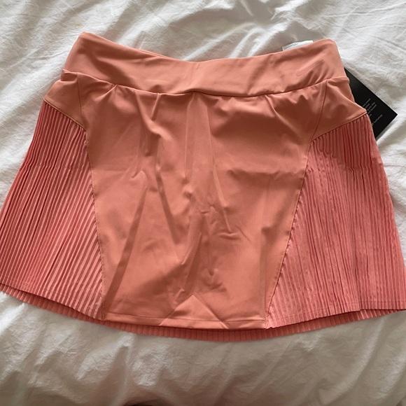 light pink Nike athletic skort
